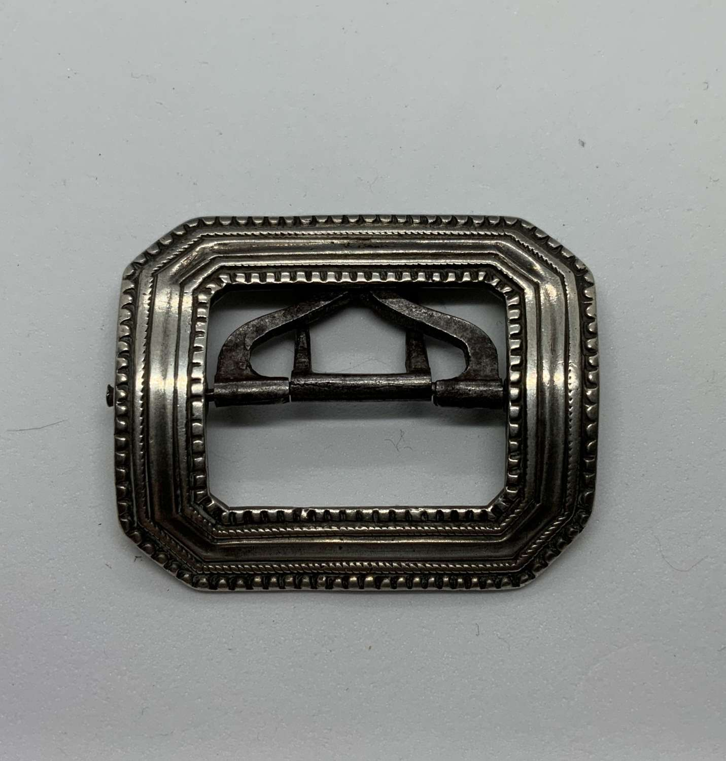 Chester silver Georgian buckle