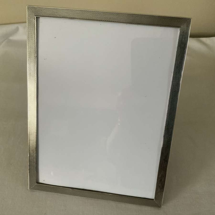 Art Deco silver photograph frame