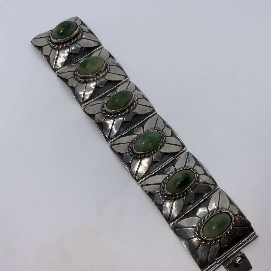 Silver Mexican bracelet
