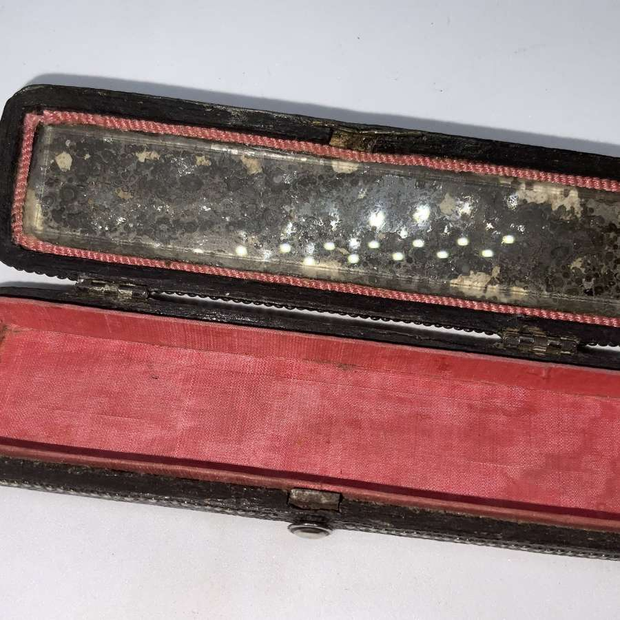 Georgian Shagreen toothpick box