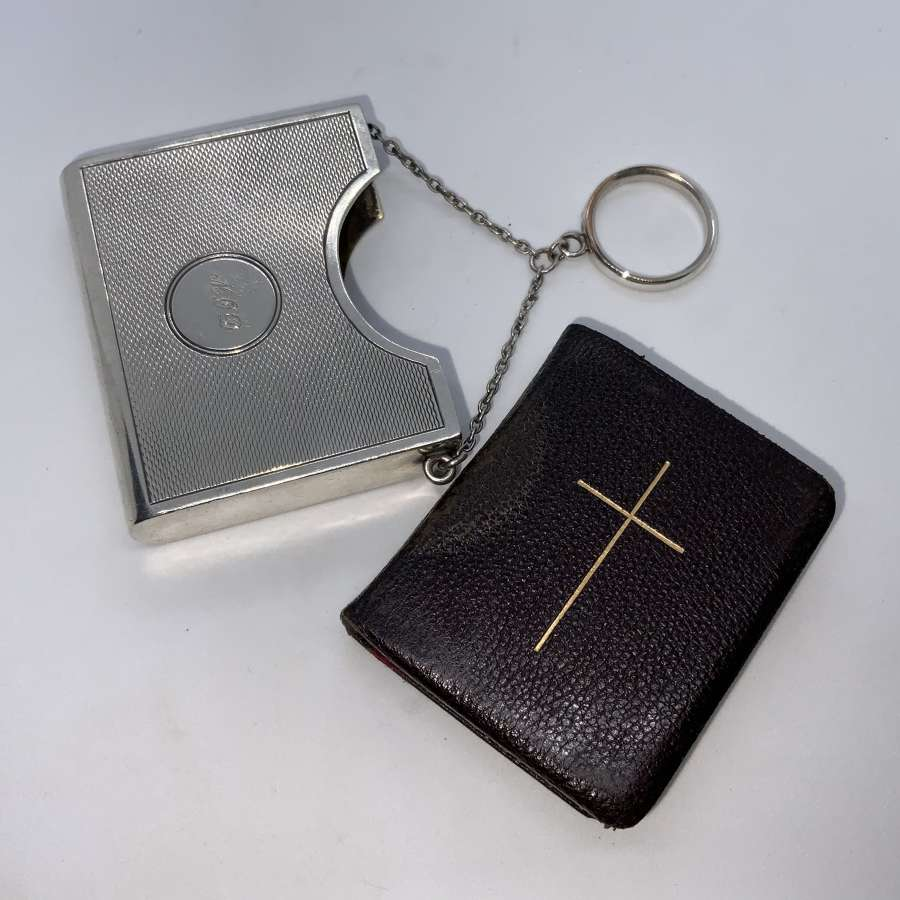 Sampson Mordan & Co silver cover & prayer book