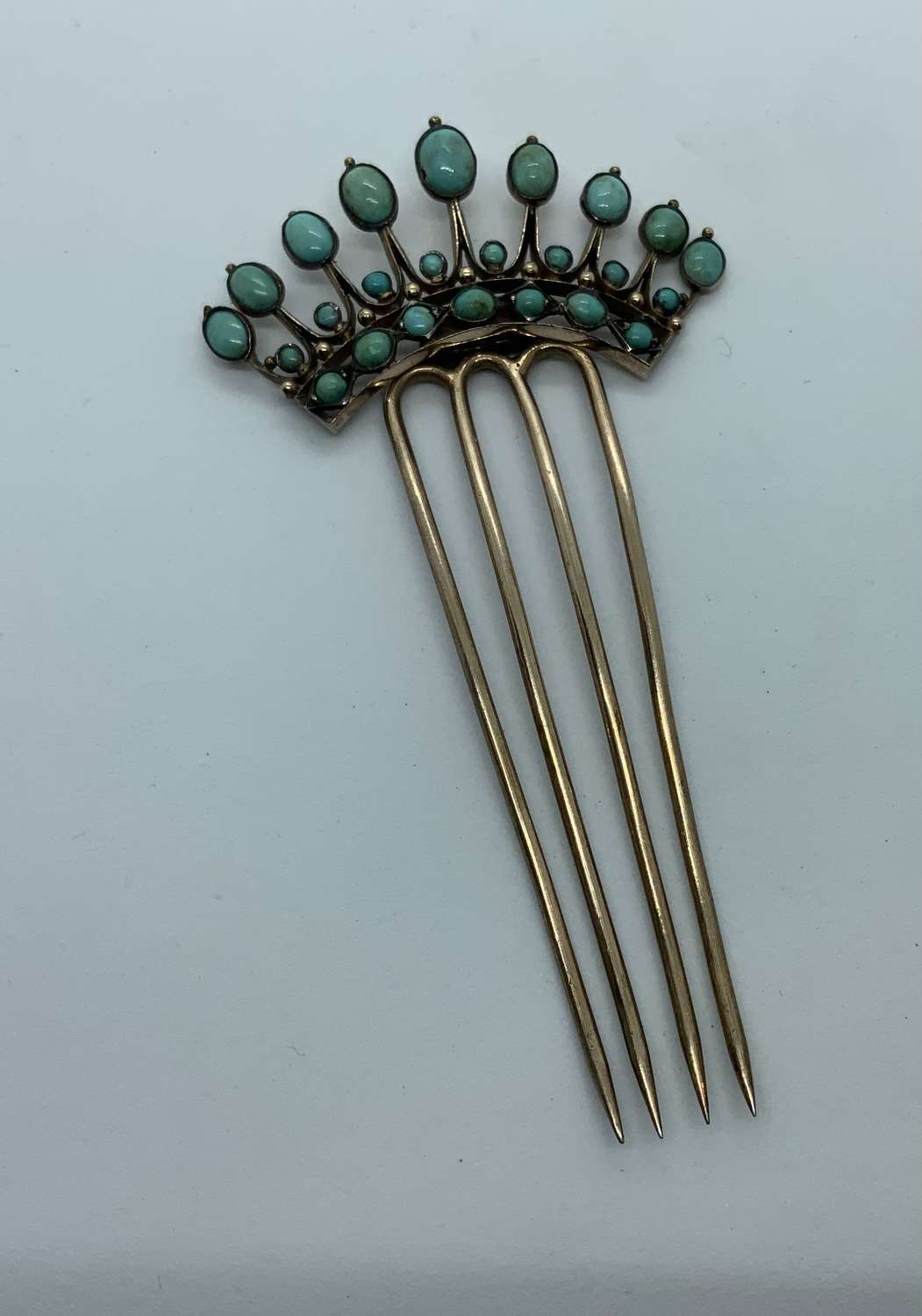 French 19th century hair comb