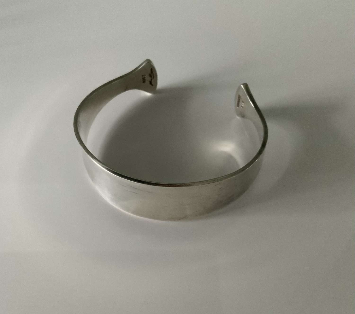 Hans Hansen silver bangle