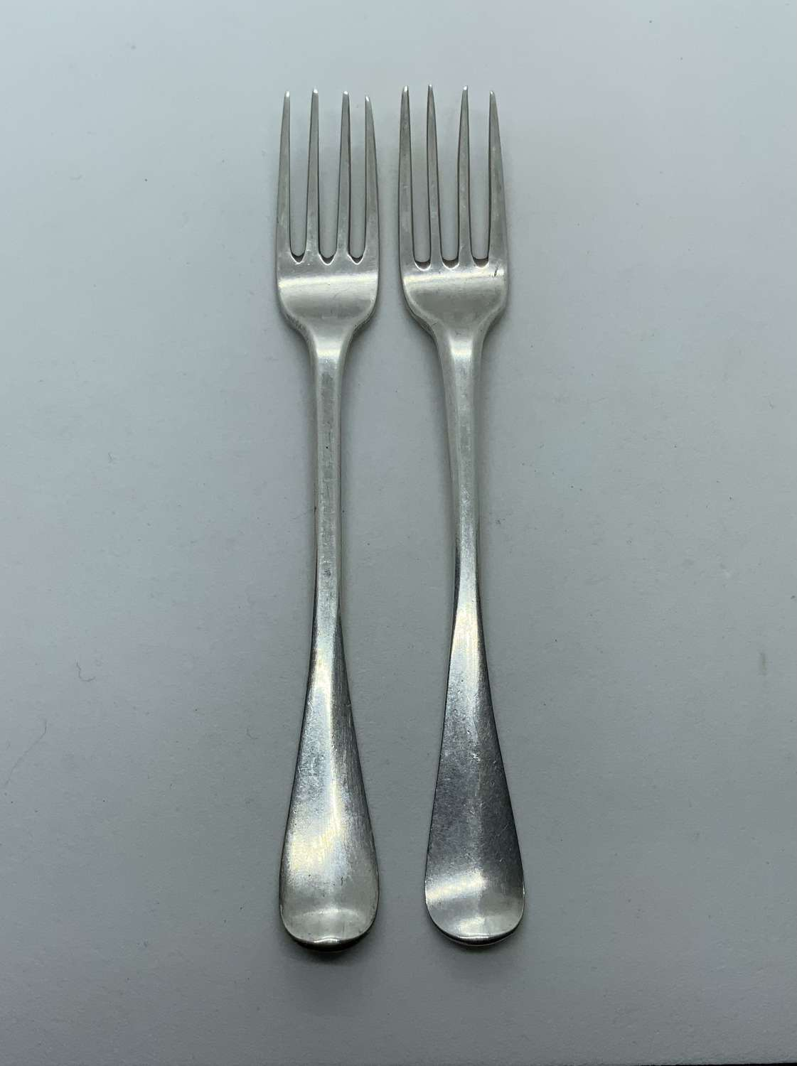 Dutch silver candied fruit forks