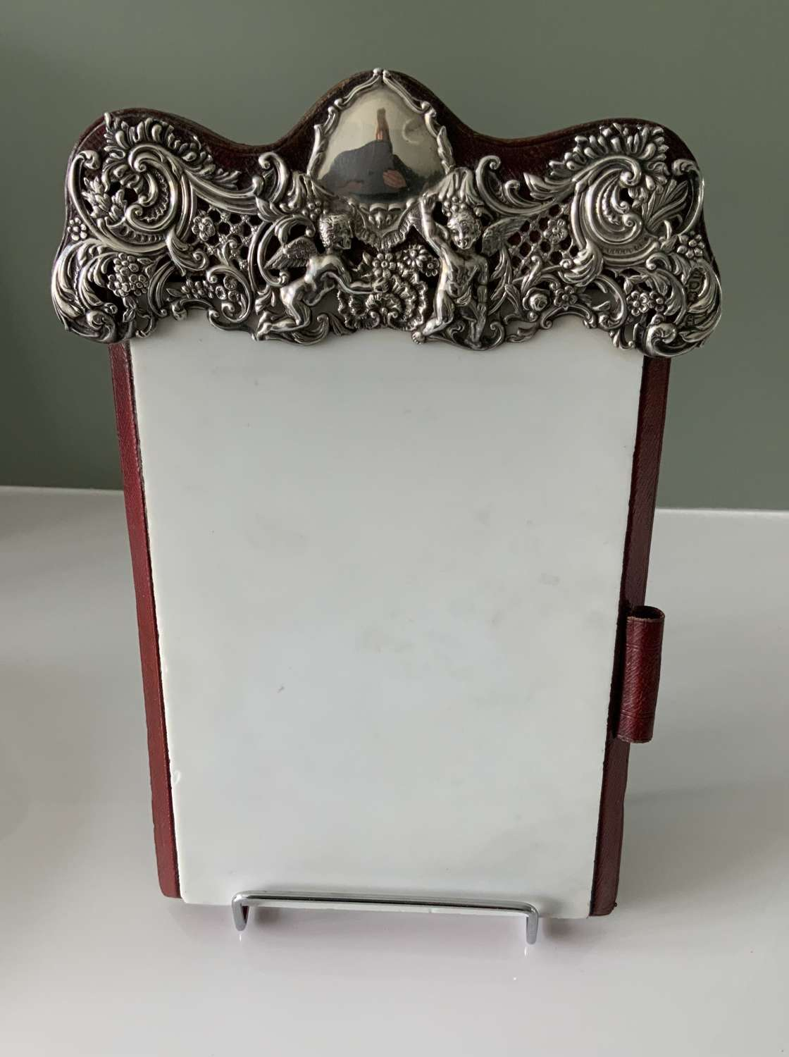 William Comyns rare silver notepad